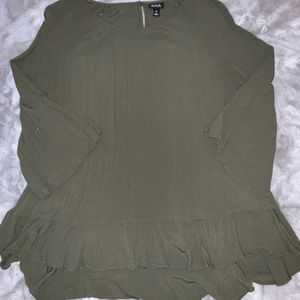 Flowy dress top. Perfect condition! Size xl